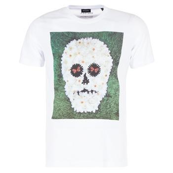 Abbigliamento Uomo T-shirt maniche corte Diesel JOE QM Bianco