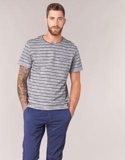 Abbigliamento Uomo T-shirt maniche corte Selected FINN Grigio / Nero