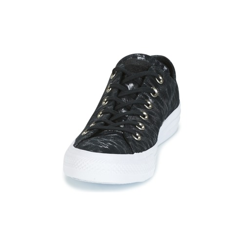 Converse Taylor Basse Donna Star Gratuita black NeroBianco Scarpe Chuck white Ox Consegna 4500 Suede Sneakers Black All Shimmer 9eHY2IWED