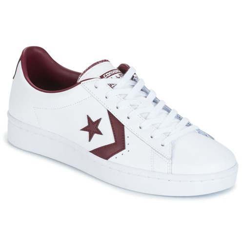 Converse – PL 76 FOUNDATIONAL LEATHER WITH ELEVATED DETAILING OX WHITE/DEEP