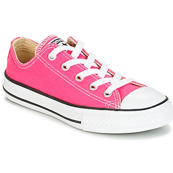 Scarpe Bambina Sneakers basse Converse CHUCK TAYLOR ALL STAR SEASONAL OX PINK POW Rosa