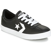 Scarpe Bambino Sneakers basse Converse BREAKPOINT FOUNDATIONAL LEATHER BP OX BLACK/WHITE/BLACK Nero / Bianco