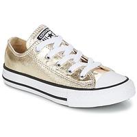 Scarpe Bambina Sneakers basse Converse CHUCK TAYLOR ALL STAR Oro / Bianco / Nero