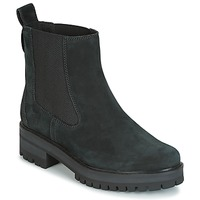 Scarpe Donna Stivaletti Timberland COURMAYER VALLEY CHELSEA Nero