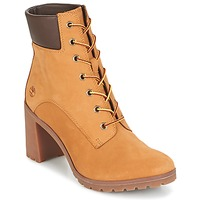Scarpe Donna Stivaletti Timberland ALLINGTON 6IN LACE UP Marrone