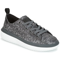 Scarpe Donna Sneakers basse Palladium CRUSHION LACE CAMO Nero / Grigio