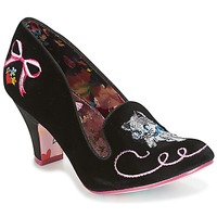 Scarpe Donna Décolleté Irregular Choice FUZZY PEG Nero