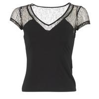 Abbigliamento Donna T-shirt maniche corte Morgan DSTAF Nero