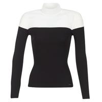 Abbigliamento Donna Maglioni Morgan MICO Nero / Bianco