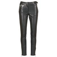 Abbigliamento Donna Pantaloni 5 tasche Morgan PEANUT Nero