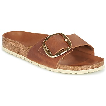 Scarpe Donna Ciabatte Birkenstock MADRID BIG BUCKLE Marrone