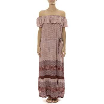 Abbigliamento Donna Abiti lunghi By La Vitrine Robe Longue Care  of you Rouge Rosso