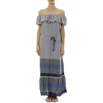 Abbigliamento Donna Abiti lunghi By La Vitrine Robe Longue Care  of you Bleu Blu