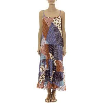 Abbigliamento Donna Abiti lunghi By La Vitrine Robe Longue patchwork  Care of you Mutilcolor 1 Multicolore