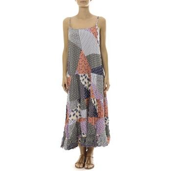 Abbigliamento Donna Abiti lunghi By La Vitrine Robe Longue patchwork  Care of you Mutilcolor 2 Multicolore