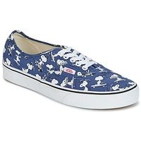 Scarpe Sneakers basse Vans AUTHENTIC SNOOPY Blu / Bianco