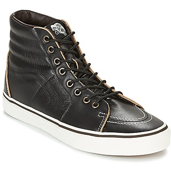 Scarpe Sneakers alte Vans SK8-HI Nero