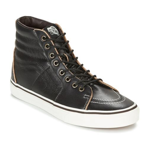 Vans Sneakers Alte Sk8-Hi Nero E Blu Gambale: 8 cm h6lGVwz