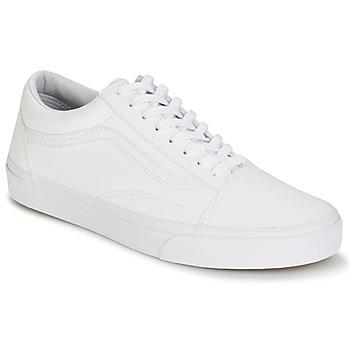 Scarpe Sneakers basse Vans OLD SKOOL Bianco
