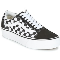 Scarpe Donna Sneakers basse Vans UA OLD SKOOL PLATFORM Nero / Bianco
