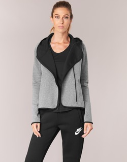 Abbigliamento Donna Felpe Nike TECH FLEECE CAPE FZ Grigio