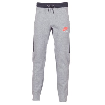 Abbigliamento Uomo Pantaloni da tuta Nike AIR JOGGER FLEECE Grigio / Rosso