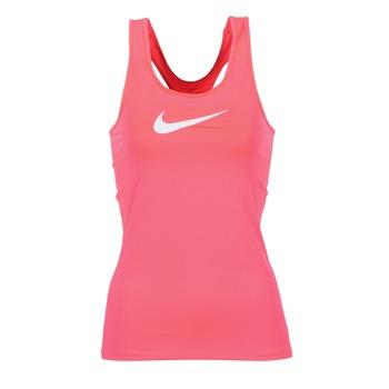 Abbigliamento Donna Top / T-shirt senza maniche Nike NIKE PRO COOL TANK Rosa / Bianco