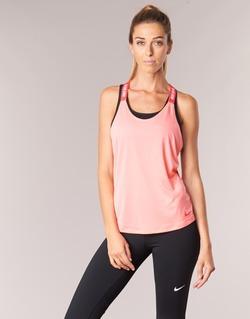 Abbigliamento Donna Top / T-shirt senza maniche Nike NIKE DRY TANK ELASTIKA Rosa / Rosso