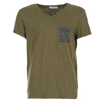 Abbigliamento Uomo T-shirt maniche corte Eleven Paris ABICO KAKI