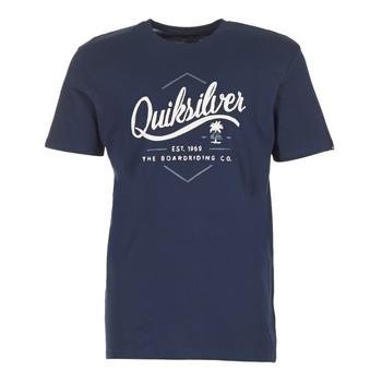 Abbigliamento Uomo T-shirt maniche corte Quiksilver CLATESEATALES MARINE
