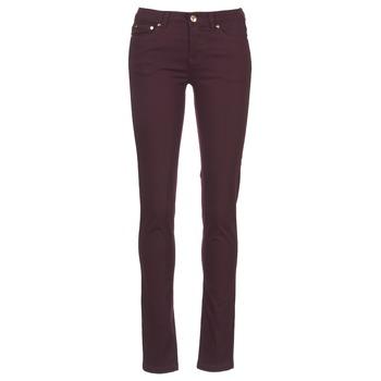 Abbigliamento Donna Pantaloni 5 tasche LPB Woman BEMBRELA Prune