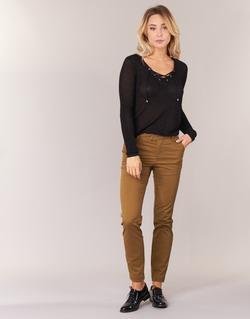 Abbigliamento Donna Pantaloni 5 tasche Les P'tites Bombes CHINAI Cognac
