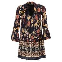 Abbigliamento Donna Abiti corti Derhy DEGUSTATION Nero / Multicolore