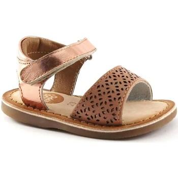 Scarpe Bambino Sandali Gioseppo 31801 rosa sandali bambina strappo pelle Rosa