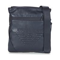 Borse Uomo Pochette / Borselli Armani jeans GIBOU MARINE