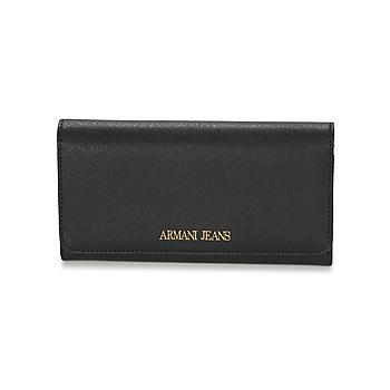 Borse Donna Portafogli Armani jeans SALDI Nero