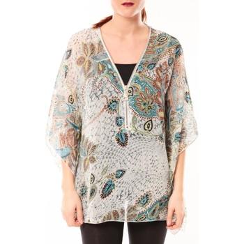 Abbigliamento Donna Top / Blusa De Fil En Aiguille Chemisier Love Look B42 Gris/Multicolor Multicolore
