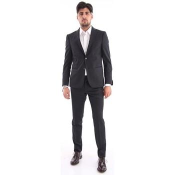 Abbigliamento Uomo Completi Z Zegna ABITO  NERO Black