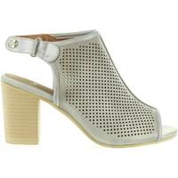 Scarpe Donna Sandali Lois Jeans 85104 Gris