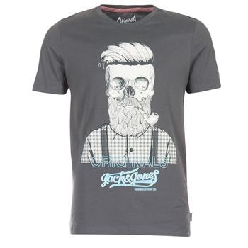 Abbigliamento Uomo T-shirt maniche corte Jack & Jones CRIPTIC ORIGINALS Grigio