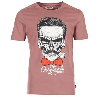 Abbigliamento Uomo T-shirt maniche corte Jack & Jones CRIPTIC ORIGINALS Rosa