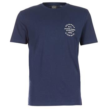 Abbigliamento Uomo T-shirt maniche corte Jack & Jones ORGANIC ORIGINALS MARINE