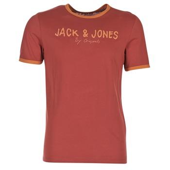 Abbigliamento Uomo T-shirt maniche corte Jack & Jones RETRO ORIGINALS Rosso