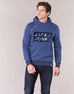 Abbigliamento Uomo Felpe Jack & Jones KALVO CORE Blu