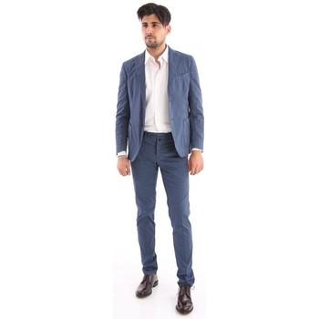 Abbigliamento Uomo Completi Bagnoli Sartoria Napoli ABITO  BLU IN COTONE Blue