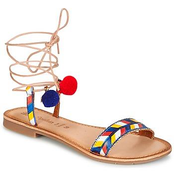 Sandali donna multicolore - Consegna gratuita con Spartoo.it ! 892795cf511