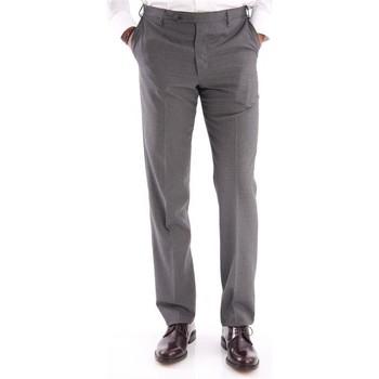 Abbigliamento Uomo Pantaloni da completo Rota PANTALONE  GRIGIO IN FRESCO DI LANA Grey