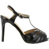 Scarpe Donna Sandali Maria Mare 66022 Negro