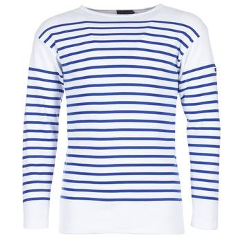 Abbigliamento Uomo T-shirts a maniche lunghe Armor Lux DISJON Bianco / Blu
