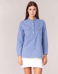 Abbigliamento Donna Camicie Armor Lux GRICHA Blu